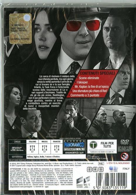 The Blacklist. Stagione 4. Serie TV ita (6 DVD) di Jon Bokenkamp - DVD - 2