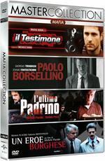 Mafia Master Collection. Il testimone - Paolo Borsellino - L'ultimo padrino - Un eroe borghese (4 DVD)