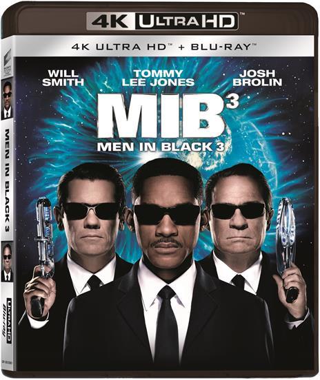 Men In Black 3. MIB (Blu-ray + Blu-ray 4K Ultra HD) di Barry Sonnenfeld