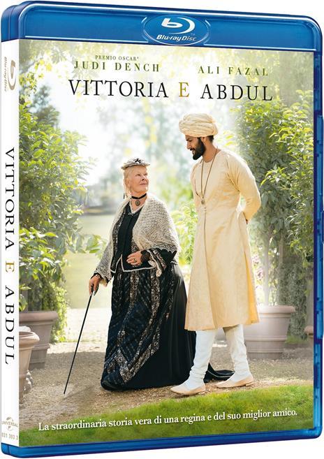 Vittoria e Abdul (Blu-ray) di Stephen Frears - Blu-ray