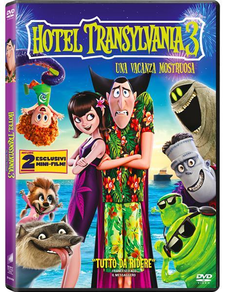 Hotel Transylvania 3. Una vacanza mostruosa (DVD) di Genndy Tartakovsky - DVD