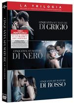 Cinquanta Sfumature. Trilogia (3 DVD)