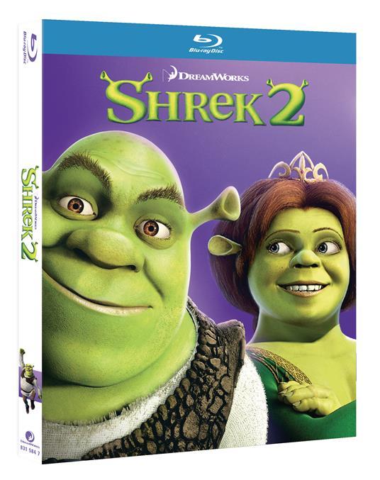 Shrek 2 (Blu-ray) di Andrew Adamson,Kelly Asbury,Conrad Vernon - Blu-ray - 2
