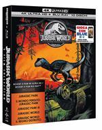 Jurassic Park. 5 Movie Collection (5 Blu-ray + 5 Blu-ray Ultra HD 4K)