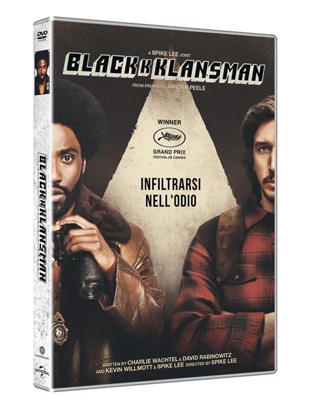 BlacKkKlansman (DVD) di Spike Lee - DVD