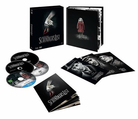 Schindler's List. Edizione 25° anniversario. Con Digibook (DVD + Blu-ray) di Steven Spielberg - DVD + Blu-ray