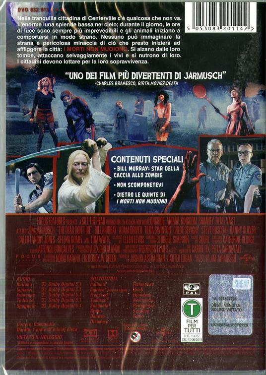I morti non muoiono (DVD) di Jim Jarmusch - DVD - 2