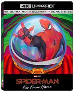 Spider-Man. Far from Home. Edizione limitata con Steelbook Mysterio e Bonus Disc (2 Blu-ray + Blu-ray 4K Ultra HD)