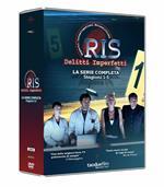 RIS Delitti imperfetti. Collezione Completa Stagione 1-5. Serie TV ita (23 DVD)