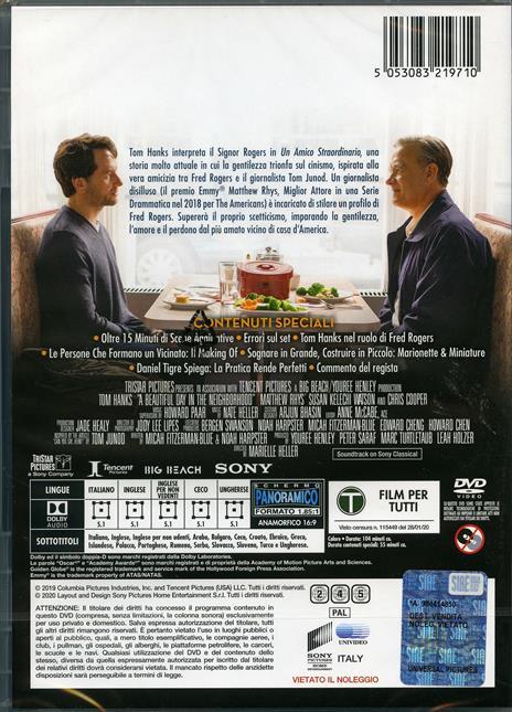 Un amico straordinario (DVD) di Marielle Heller - DVD - 2