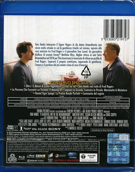 Un amico straordinario (Blu-ray) di Marielle Heller - Blu-ray - 2