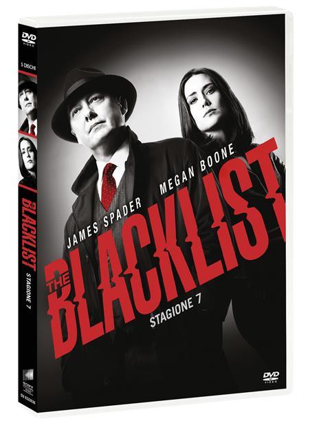 The Blacklist. Stagione 7. Serie TV ita (DVD) di Jon Bokenkamp - DVD