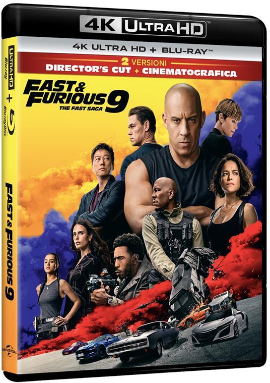 Fast & Furious 9 (Blu-ray + Blu-ray Ultra HD 4K) di Justin Lin - Blu-ray + Blu-ray Ultra HD 4K