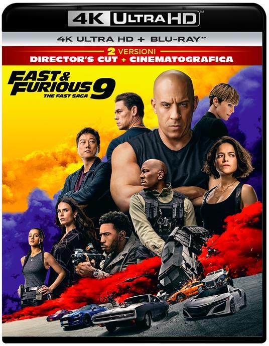Fast & Furious 9 (Blu-ray + Blu-ray Ultra HD 4K) di Justin Lin - Blu-ray + Blu-ray Ultra HD 4K - 2