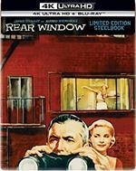 La finestra sul cortile. Steelbook (Blu-ray + Blu-ray Ultra HD 4K)