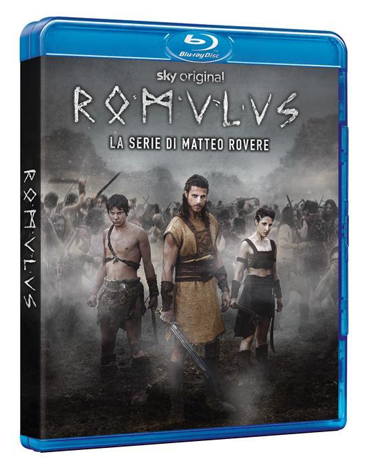 Romulus. Stagione 1. Serie TV ita (4 Blu-ray) di Matteo Rovere,Michele Alhaique,Enrico Maria Arta