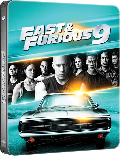 Fast & Furious 9 (Steelbook Blu-ray + Blu-ray Ultra HD 4K) di Justin Lin - Blu-ray + Blu-ray Ultra HD 4K