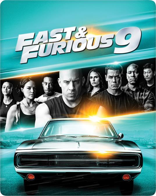 Fast & Furious 9 (Steelbook Blu-ray + Blu-ray Ultra HD 4K) di Justin Lin - Blu-ray + Blu-ray Ultra HD 4K - 2