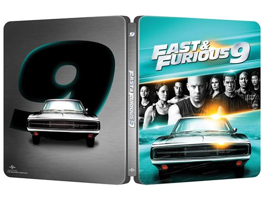 Fast & Furious 9 (Steelbook Blu-ray + Blu-ray Ultra HD 4K) di Justin Lin - Blu-ray + Blu-ray Ultra HD 4K - 3
