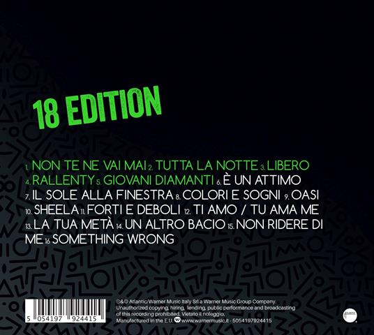 Thomas 18 Edition - CD Audio di Thomas - 2