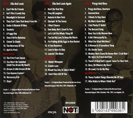 The Definitive Ella & Louis - CD Audio di Louis Armstrong,Ella Fitzgerald - 2