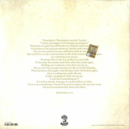 Presents the Holy - Vinile LP di Micah P. Hinson - 2