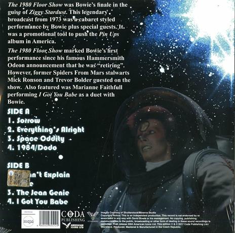 Ziggy's Last Floor Show - Vinile LP di David Bowie - 2