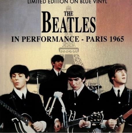 In Performance. Paris 1965 (Blue Coloured Vinyl) - Vinile LP di Beatles