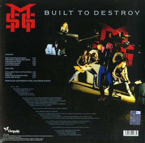 Built to Destroy - Vinile LP di Michael Schenker (Group) - 2