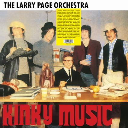 Kinky Music - Vinile LP di Larry Page (Orchestra)