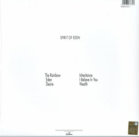Spirit of Eden - Vinile LP + DVD di Talk Talk - 2