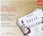 Le nozze di Figaro - CD Audio di Wolfgang Amadeus Mozart,Carlo Maria Giulini,Fiorenza Cossotto,Elisabeth Schwarzkopf,Giuseppe Taddei,Philharmonia Orchestra