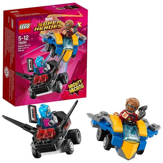 LEGO Super Heroes (76090). Mighty Micros: Star-Lord contro Nebula