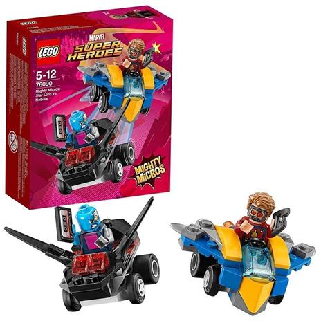 LEGO Super Heroes (76090). Mighty Micros: Star-Lord contro Nebula - 5