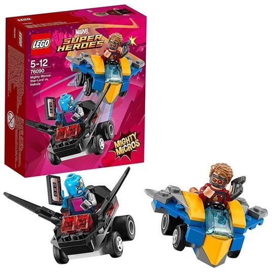 LEGO Super Heroes (76090). Mighty Micros: Star-Lord contro Nebula - 2