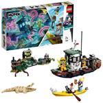 LEGO Hidden Side (70419). Il peschereccio naufragato