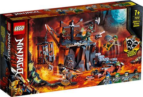 LEGO Ninjago (71717). Viaggio nelle Segrete dei Teschi