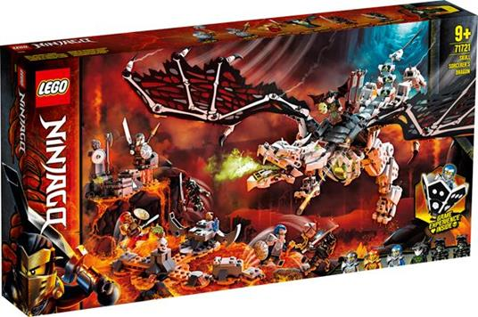 LEGO Ninjago (71721). Drago dello Stregone Teschio - 2