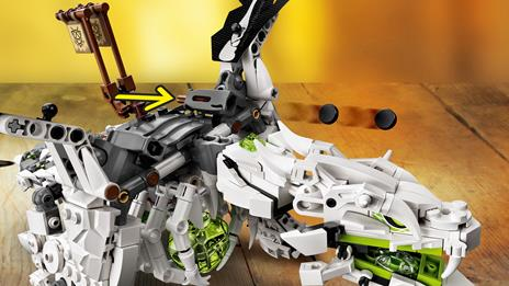 LEGO Ninjago (71721). Drago dello Stregone Teschio - 8
