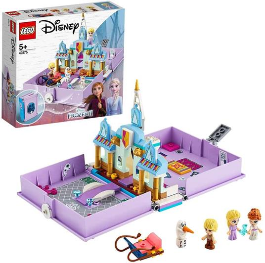 LEGO Disney Princess (43175). Il libro delle fiabe di Anna ed Elsa
