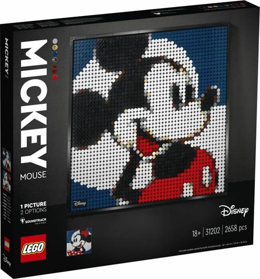 LEGO ART (31202). Disney's Mickey Mouse