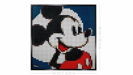 LEGO ART (31202). Disney's Mickey Mouse - 3