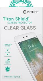 eSTUFF Apple iPhone 6/6S/7/8 Clear Pellicola proteggischermo trasparente Telefono cellulare/smartphone 1 pezzo(i)