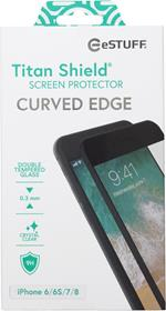 eSTUFF ES501120 protezione per schermo Pellicola proteggischermo trasparente Telefono cellulare/smartphone Apple 1 pezzo(i)