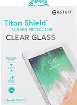 eSTUFF Apple iPad Air/Air2/9.7 Clear Pellicola proteggischermo trasparente Tablet 1 pezzo(i)