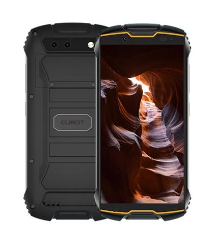 "Cubot KingKong Mini 10,2 cm (4"") 3 GB 32 GB Doppia SIM 4G Nero, Arancione Android 9.0 2000 mAh"