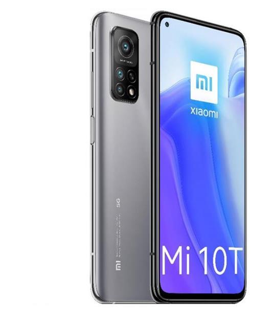 "Xiaomi Mi 10T 16,9 cm (6.67"") 6 GB 128 GB Doppia SIM 5G USB tipo-C Argento 5000 mAh"