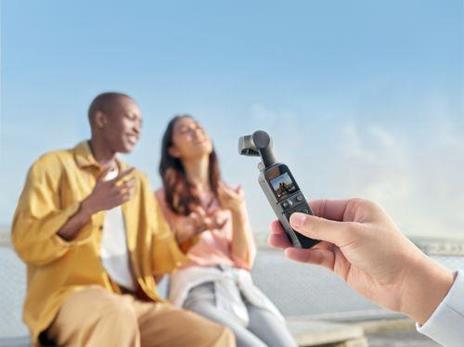 DJI Pocket 2 Creator Combo fotocamera a sospensione cardanica 2K Ultra HD 64 MP Nero - 4