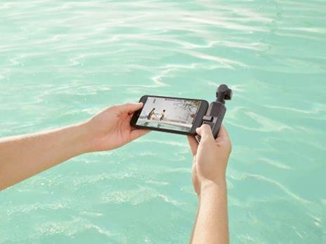 DJI Pocket 2 fotocamera a sospensione cardanica 4K Ultra HD 64 MP Nero - 2