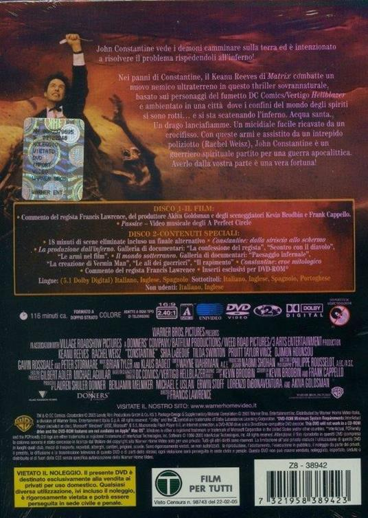 Constantine di Francis Lawrence - DVD - 2